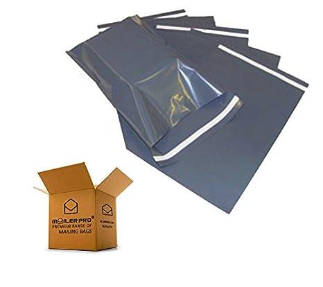 """1000 Gris 14/""""X21/"""" Self Seal sacs postaux Polythène Poly Emballage Prix Spécial"""