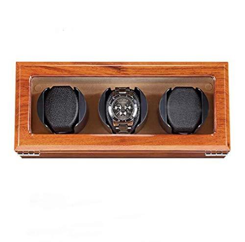 cajas de cartón para embalaje de madera maciza mute automático reloj devanadera de reloj cajas de almacenamiento para 1 2 3 4 relojes caja de cartón de embalaje (tamaño : C)