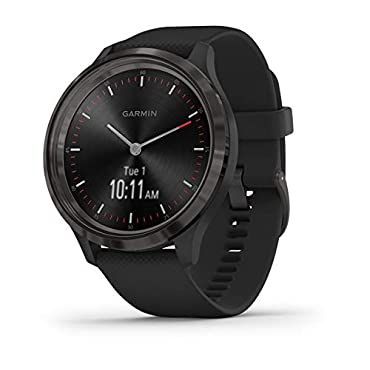 Garmin vivomove 3 Hybrid Smartwatch (Slate with Black Band)