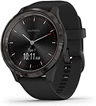 hybrid smartwatch - q crewmaster black silicone