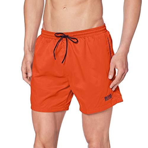 BOSS Herren Dogfish Boardshorts, Bright Orange824, L