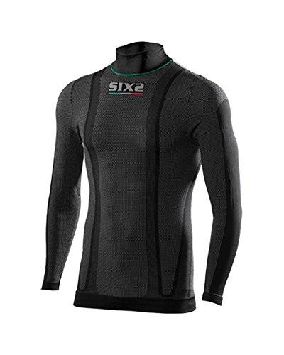 Gebreide trui SIX2 Underwear Light S zwart.