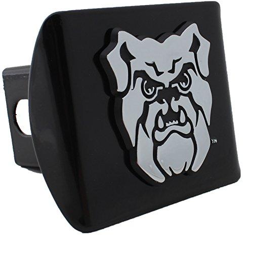 AMG Auto Emblems Butler University Bulldogs Black METAL Hitch Cover