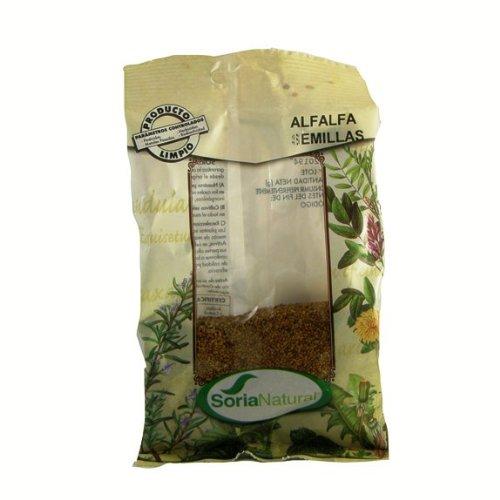 alfalfa semillas germinar soria natural 100 gr.