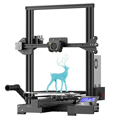 Comgrow Creality Ender 3 Max FDM 3D Printer with Silent Mainboard Meanwell Power Supply Carborundum Glass Platform Large Print Size 300x300x400mm
