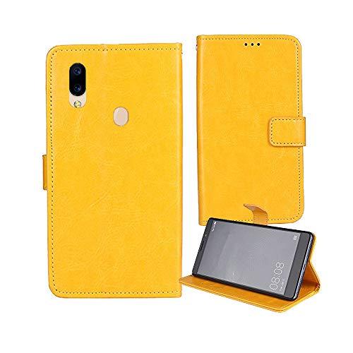 Lankashi Premium Retro Business Flip Leder Tasche Schütz Hülle Handy Handy Hülle Für CUBOT Max 2 6.8