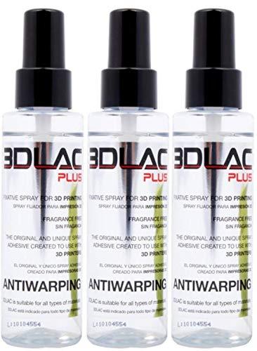 3DLAC Plus - Adesivo per stampante 3D, confezione da 3