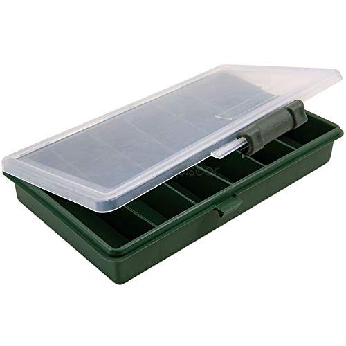 Lineaeffe Boîte à Leurres Big 20.5 x 12 x 3 cm Boîte de Pêche Rangement Accessoire Leurre Hameçon Compartiment Plastique