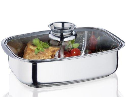Küchenprofi 23 8600 28 36 Aromabräter Vital mit Glasdeckel
