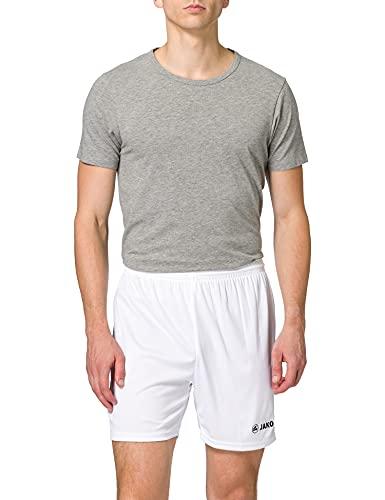 JAKO Kinder Shorts Sporthose Manchester, Weiß, 4, 4412