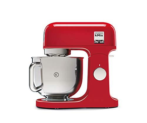 Kenwood KMX750AR Impastatrice Planetaria Kitchen Machine kMix, Robot da Cucina Mixer, 1000...