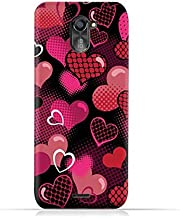 infinix Hot 4 Pro X556 TPU Silicone Protective Case with Valentine Hearts Seamless Pattern Design