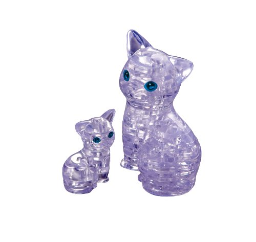 Crystal puzzle Cat 50155 (japan import)