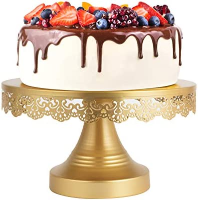 Cake Stand Gold Cupcake Stand Cake Display Stands 10In Cake Holder Cake Dessert Fruit Serving product image