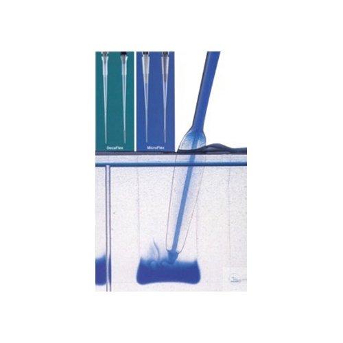 neoLab 1-6401 Mikrokapillar-Pipettenspitzen, MicroFlex, 0.5 µL-200 µL, steril (200-er Pack)