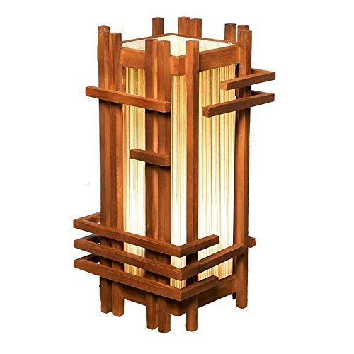 Oriental Style Lamp, Modern tafellamp, staande lamp, for woonkamers en slaapkamers, Natural Wood