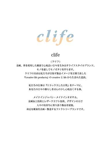 『[クリフ] clip-and-life クリップアンドライフ curiosity メガネ 日本製 クリップ clife (シルバー)』の4枚目の画像