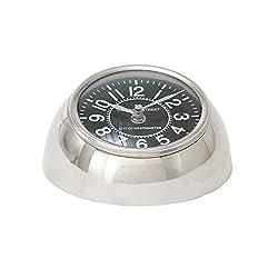 Benzara 40694 Metal Table Clock