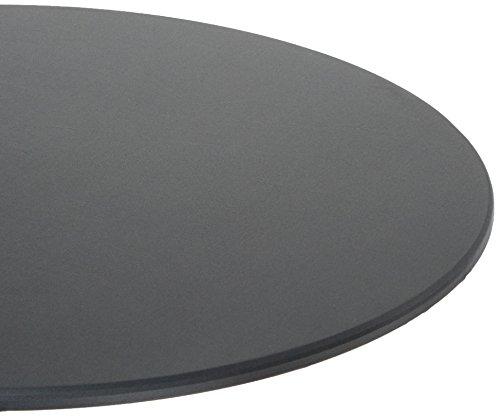 Unbekannt Stern 454820 Housse de Protection pour Table de Jardin, Gris uni, 138 x 138 x 5 cm, 0,9 kg