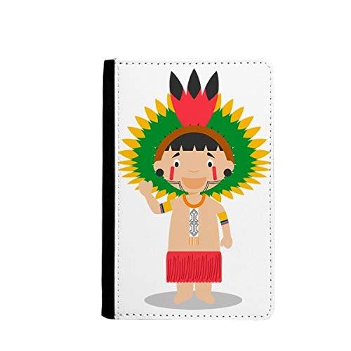 beatChong Amazon Roja Bolso Brasil Venezuela Pasaporte De Dibujos Animados Titular De Viajes Carpeta De La Tarjeta Caso De La Cubierta