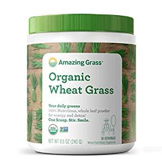 Amazing Grass Wheat Grass Powder: 100% Whole-Leaf Wheat Grass Powder for Energy, Detox & Immunity Support, 30 Servings (B00112IM56) | Amazon price tracker / tracking, Amazon price history charts, Amazon price watches, Amazon price drop alerts