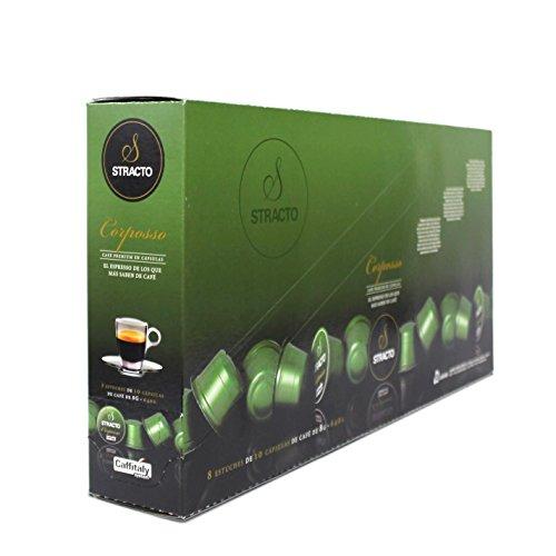 8410559080583Stracto - Cápsulas de Café - Tray Box Corposso - Estuche 80 Unidades