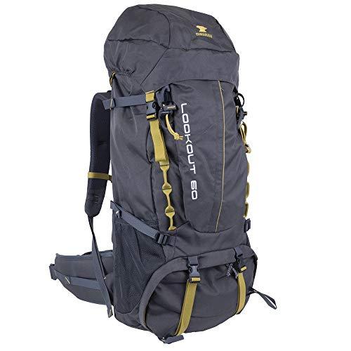 Mountainsmith Hiking Backpack, Asphalt Grey, 60 Liters