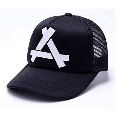 Nueva Gorra de béisbol de Moda para Mujer, Sombrero de Hip Hop Transpirable, Sombrero de Malla Informal de Verano, Sombrero de Bala rápida para Hombres y Mujeres-a12-55-60cm