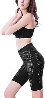 eDealMax Negro Un tamaño elástico de Cintura alta talladora del Cuerpo de tope vientre de Control