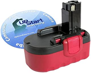 Bosch Battery Replacement Bosch 18V Battery (3300mAh, NI-MH) - Compatible with Bosch BAT181, BAT026, BAT026, 3860K Battery, BAT025, BAT180, 33618-2G, Bosch 22618, Bosch 13618, Bosch 1662, PSB 18 VE 2, Bosch 3870
