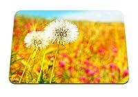 26cmx21cm マウスパッド (タンポポ植物花草) パターンカスタムの マウスパッド