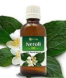 Ätherisches Neroli-Öl, 100 % rein und natürlich, unverdünnt, kaltgepresst, Aromatherapie-Öl, therapeutische Qualität, 15 ml