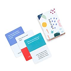 ⚡️SPARK MEANINGFUL CONVERSATIONS: This 100+ questions deck brings more intention and engagement to your conversations and relationships. 👨‍👩‍👧‍👧 BUILD DEEPER CONNECTIONS: The questions are designed to deepen relationships with your friends, family, c...