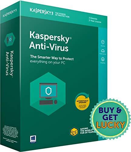 Kaspersky Anti-Virus Latest Version- 3 PCs, 3 Years (Single Key) (CD)