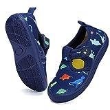 DimaiGlobal Scarpe da Immersione da Mare da Scoglio da Spiaggia Ragazze Ragazzi Scarpe da Nuoto Scarpe da Sport Acquatici Scarpette da Surf Unisex Bambino 27EU Blu Scuro