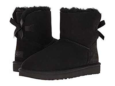 UGG Mini Bailey Bow II (Black) Women
