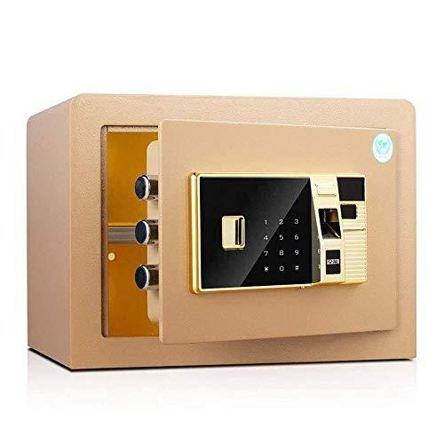 ZBM - ZBM Safe Safe Home Büro Fingerabdruck Passwort Sicher RD45II 26,5 Cm Hohe Wasserdicht, Feuerbeständige, Drillproof Und Einbruchsicherer Wandsafe Smart Home Schlüsselkasten