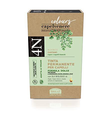 Helan Colorazione per Capelli, 4N Castano, 151 ml