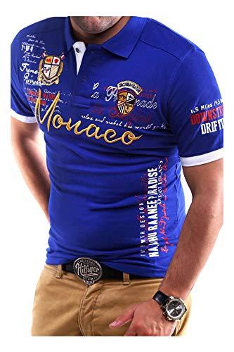 MT Styles Poloshirt Monaco T-Shirt MP-304 [Blau, L]
