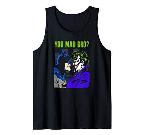 Batman Joker Mad Bro Tank Top