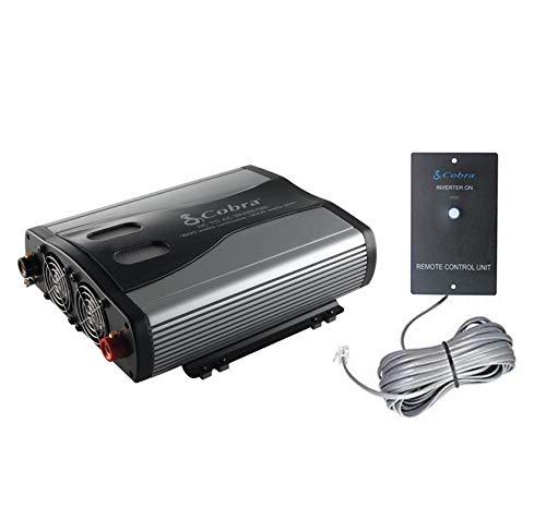 Cobra CPI1575 1500 Watt 3 Outlets DC to AC Car Power Inverter w/ Remote Control