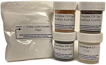 WF Cool Palette Acid Dye Sampler