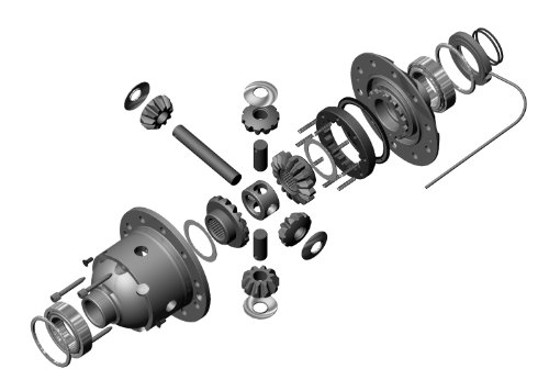 ARB RD132 Air Operated Locking Differential for Toyota 8' Front or Rear 30 Spline, Gear Ratio All