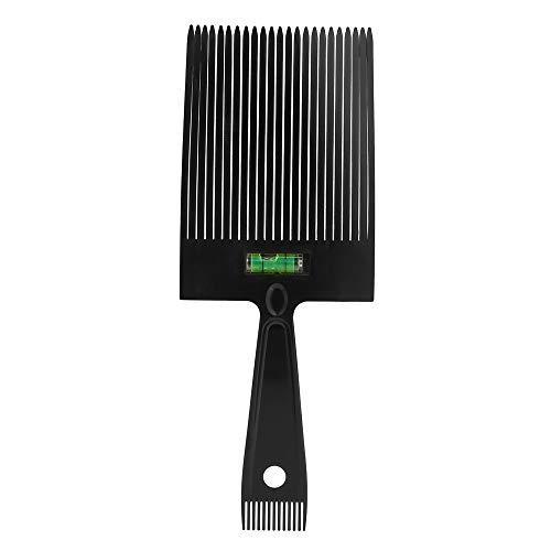 Anself Peigne à Cheveux Guide Supérieur Plat Peigne Coupe de Cheveux, Peigne à Dents Larges Peigne à Cheveux Peigne de Coiffage avec Système de Nivellement de L'eau Précis