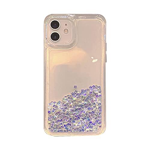 JJZXD Adecuado para la Caja de teléfonos móviles de la Serie de Apple 11, TPU Suave de Flash Diamond Soft, proteja el teléfono de la Caja de Golpes y Gotas (tamaño : 6.5' iPhone11 Pro MAX)