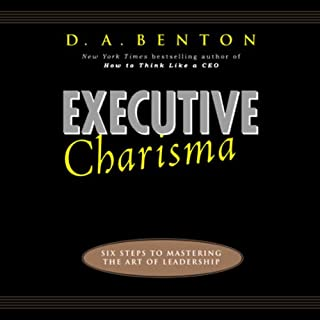 Executive Charisma audiobook cover art