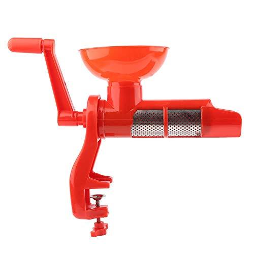Exprimidor de tomates multipropósito, máquina de jugo de tomate de mano portátil, colador de jugo de tomate y salsa, exprimidor extractor