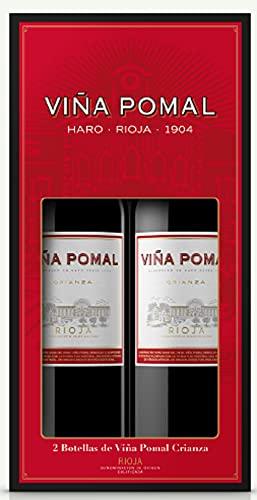 Estuche 2 Viña Pomal Crianza de 75cl - Regalar vino tinto Rioja