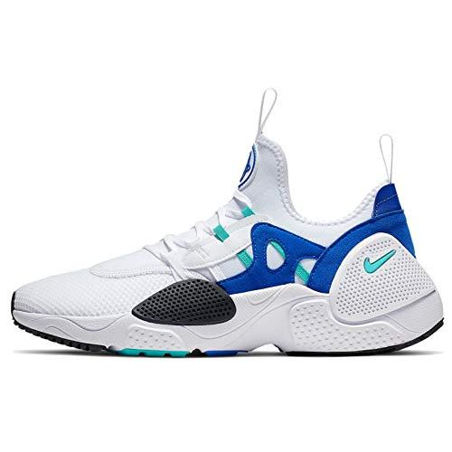 Nike Huarache E.D.G.E. TXT Mens Casual Shoe (White/Blue, Numeric_9)