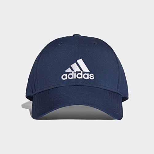 adidas 6Pcap Ltwgt Emb Gorra de Tenis, Hombre, Azul (Maruni/Maruni/Blanco), Taglia Unica